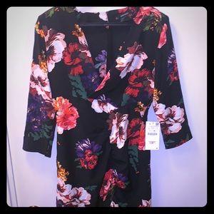 NEW Zara Floral Mini Dress